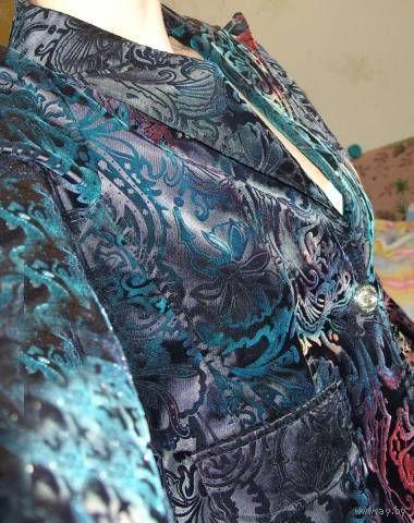 Пиджак атласный 44-46 размер