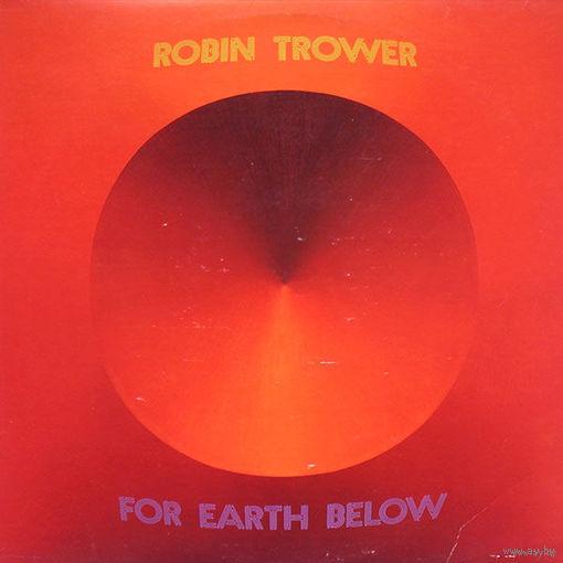Robin Trower - For Earth Below - LP - 1975