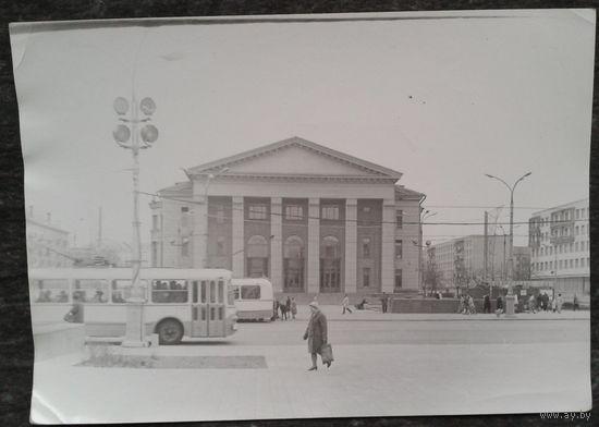 Минск. Фото здания филармонии. 1970-е 13х18 см