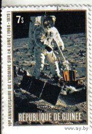 Гвинея 1979 10-летие высадки человека на Луну