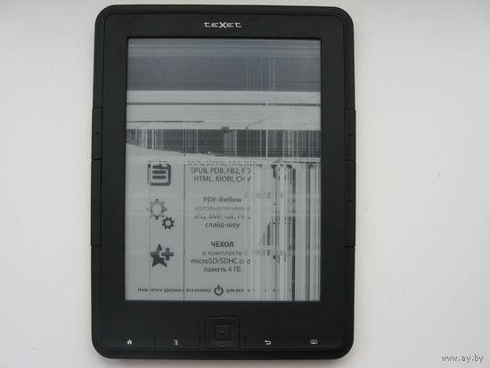 Электронная книга на з/ч TEXET