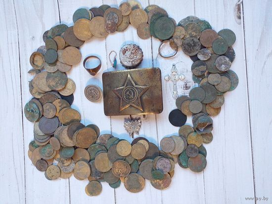 Сборный лот советских монет.Все,что на фото,все вместе с 1 рубля!