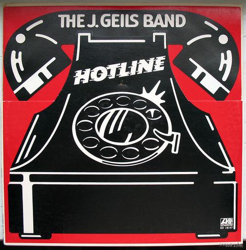 """J. Geils Band """"Hotline"""" LP, 1975"""