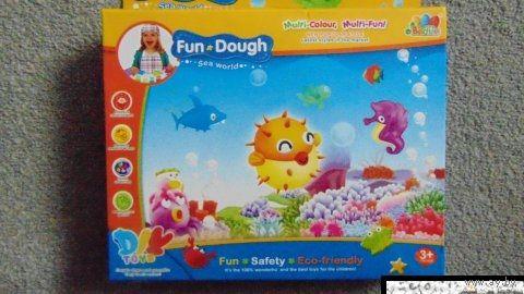 Игровой набор Пластилин Fun Dough Морской мир