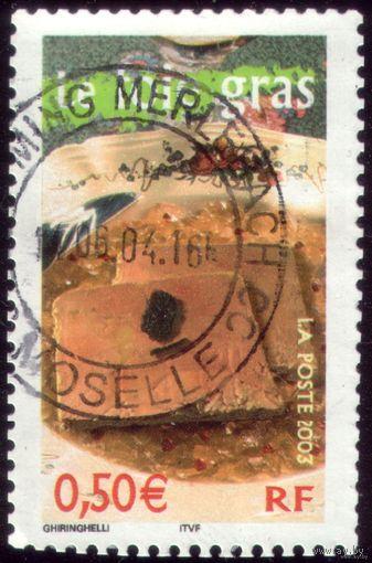 1 марка 2003 год Франция