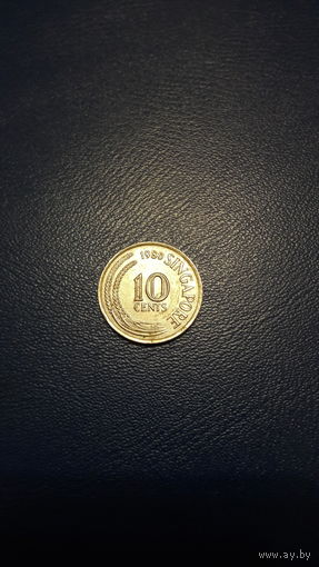 Сингапур 10 центов 1980 год km#3 VF – РАСПРОДАЖА