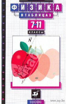 Владимир Орлов: Физика в таблицах. 7-11 классы: справочное пособие