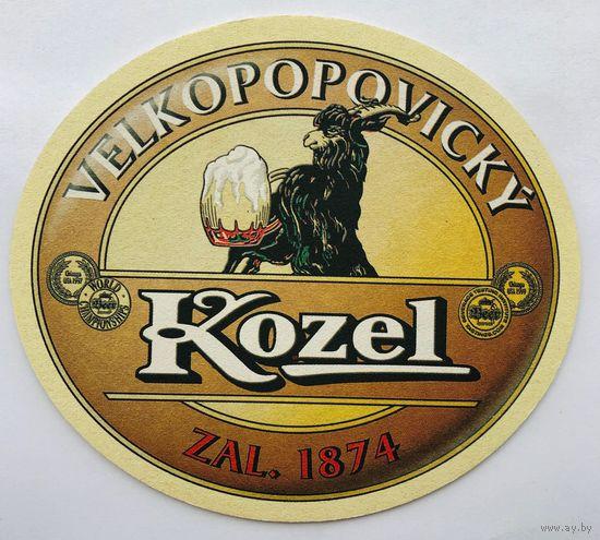 Подставка под пиво Velkopopovicky Kozel /Чехия/-1
