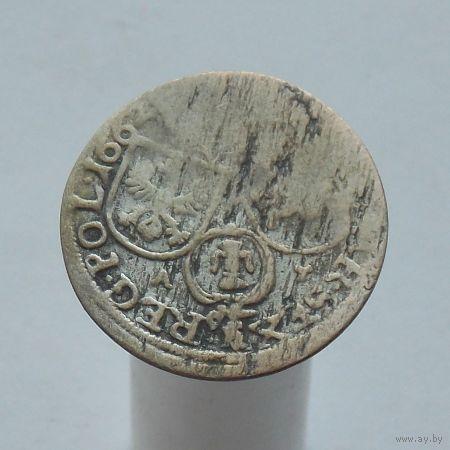 6 грошей 1662 Ян II Казимир Ваза
