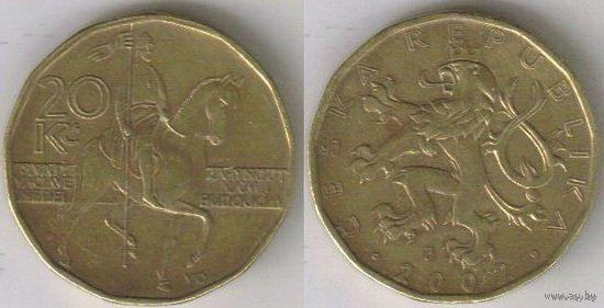Чехия. 20 крон (2002)