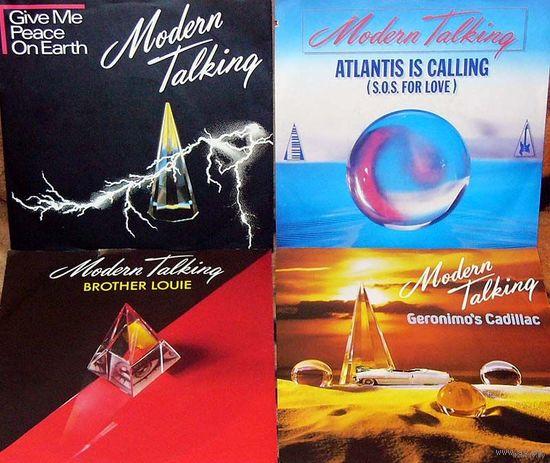 0533. Modern Talking (4x7'' Singl, 45rpm) = 40$