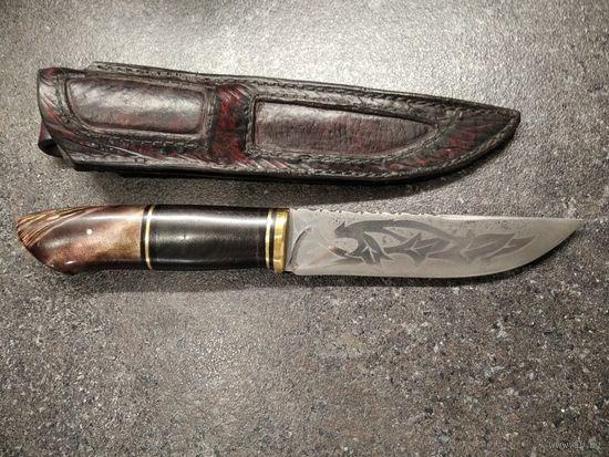 Нож ручной работы.