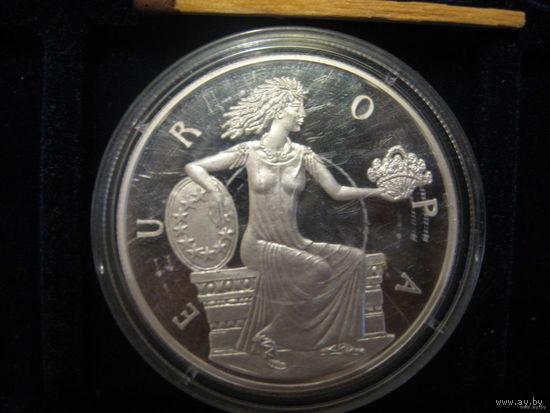 Европа, 1998, серебро; Андорра; обмен возм