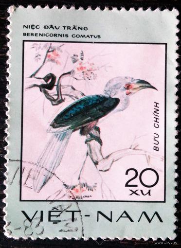Редкие птицы, 1977 г., Вьетнам. 1 марка. Даром при покупке моих лотов на 50 коп.