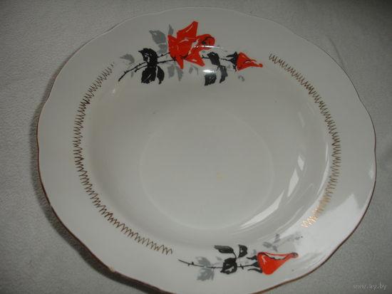 Тарелка для 1-го блюда старая Рига
