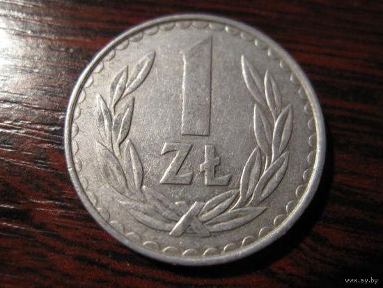 1 злотый 1984  Y# 49.1 (Польша)