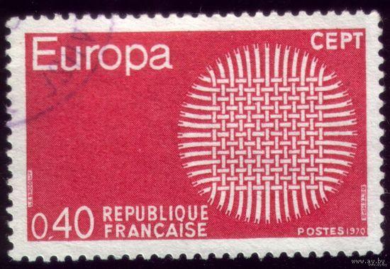 1 марка 1970 год Франция Септ