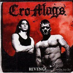 "CD Cro-Mags   ""Revenge""  made in germany"
