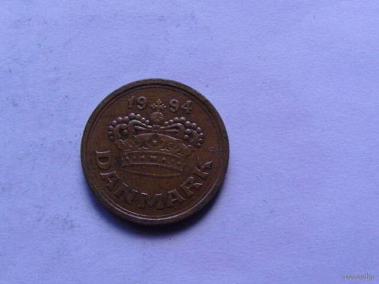 Дания 25 эре 1994г.  распродажа