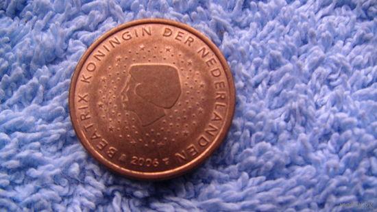 Нидерланды 5 евроцентов 2006г. No03 распродажа