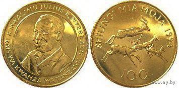 Танзания 100 Shilingi 1994