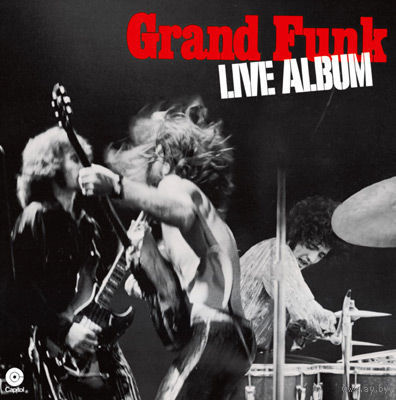 2LP Grand Funk - Live Album (16 Nov 1970) Hard Rock