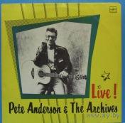 """LP Пит Андерсон и группа """"Архив"""" - Live! (1990)"""