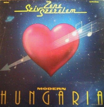 Modern Hungaria  -  Sziv Zene Szerelem - LP - 1986