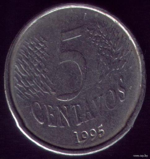 5 сентаво 1995 год Бразилия