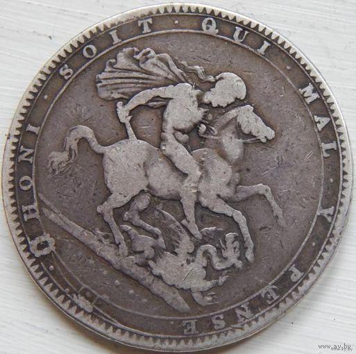 100. Англия 1 крона 1819 год, Георг-3*