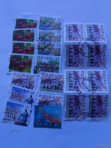 Польша марки сборка. распродажа