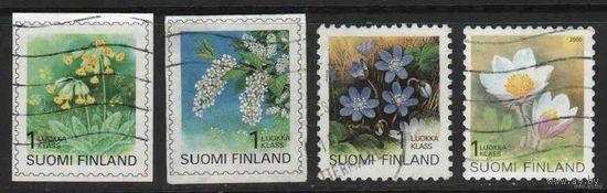 Красивые  Финляндия Стандарты /4 марки/