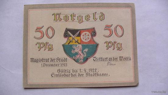 Германия Нотгельд 50 пфенинг 1922г состояние. большая. распродажа
