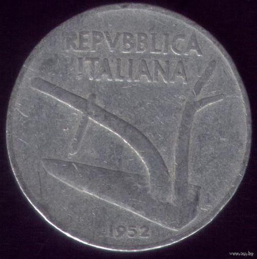 10 Лир 1952 год Италия