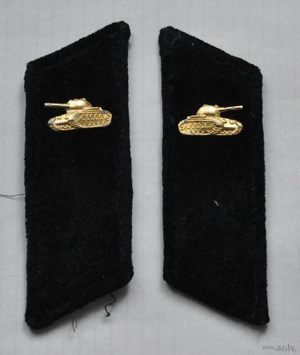 Петлицы на шинель СССР (черные, бархатные)
