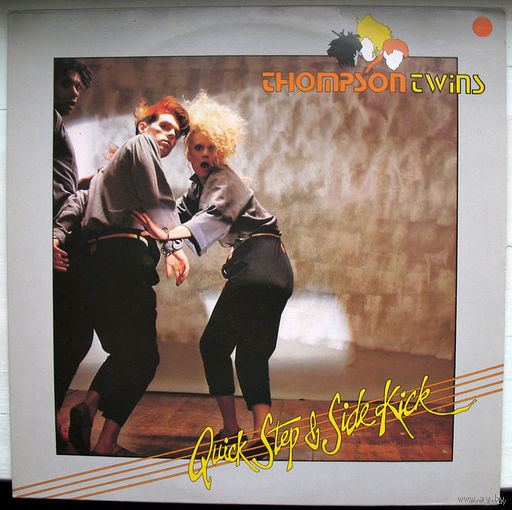 "Thompson Twins ""Quick Step & Side Kick"" LP, 1983"