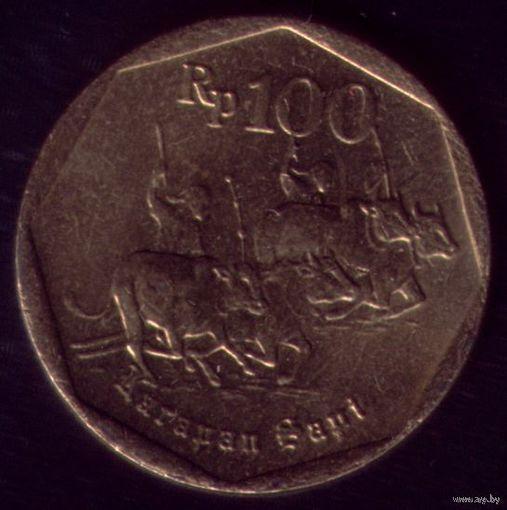 100 Рупий 1996 год Индонезия