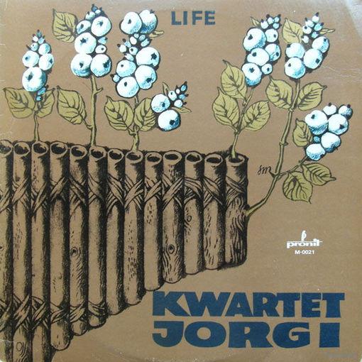 Kwartet Jorgi - Life - LP - 1985
