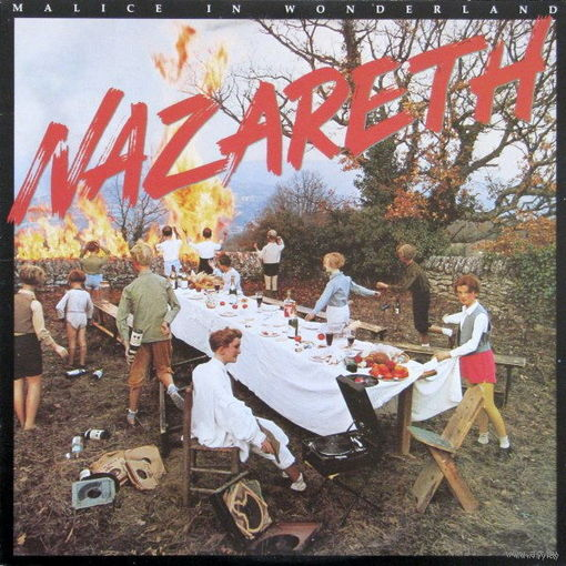 Nazareth  - Malice In Wonderland  - LP - 1980
