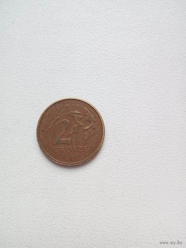 2 грош 2001г.Польша