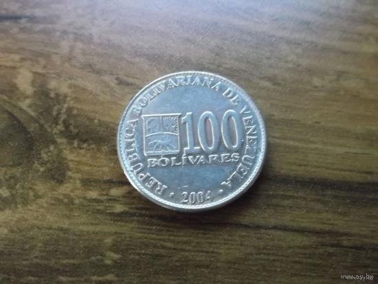 Венесуэла 100 bolivares 2004