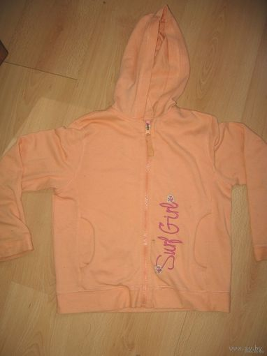 Байка персикового цвета 8-9 лет
