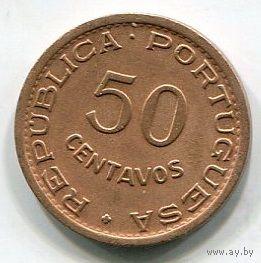 МОЗАМБИК - 50 СЕНТАВО 1957