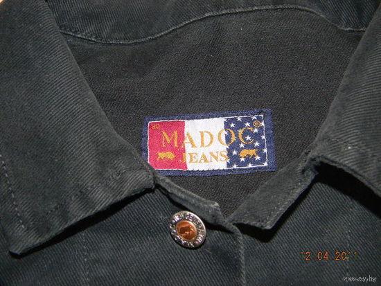 Фирменная джинсовая куртка 48р