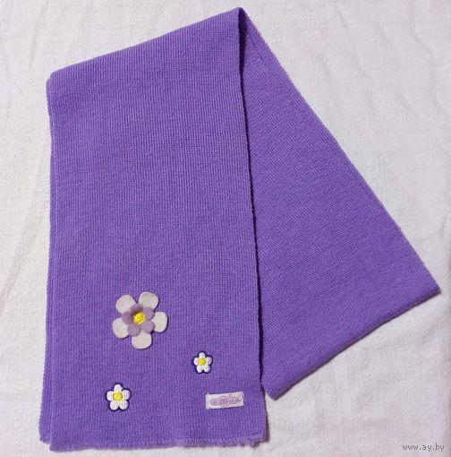Детский фиолетовый шарфик Смешарики