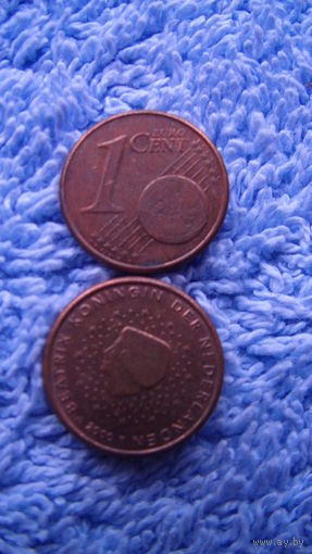 Нидерланды 1 евроцент 2000г распродажа