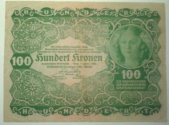 100 крон 1922