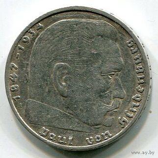 ГЕРМАНИЯ - 2 МАРКИ 1937 А