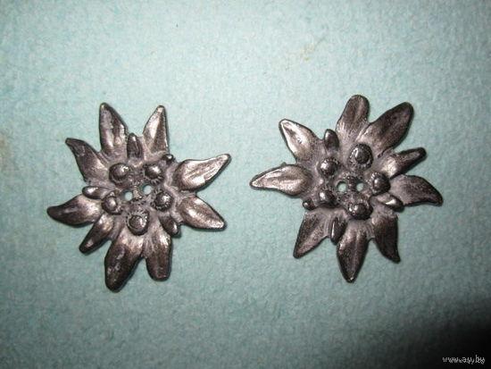 Пуговицы металлические дизайнерские, 45 мм