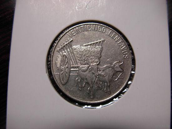 Доминиканская Республика 25 сентаво 1989 год Буйволы
